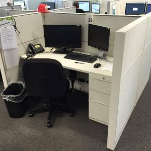 Call Center Cubicles for sale. Great Shape