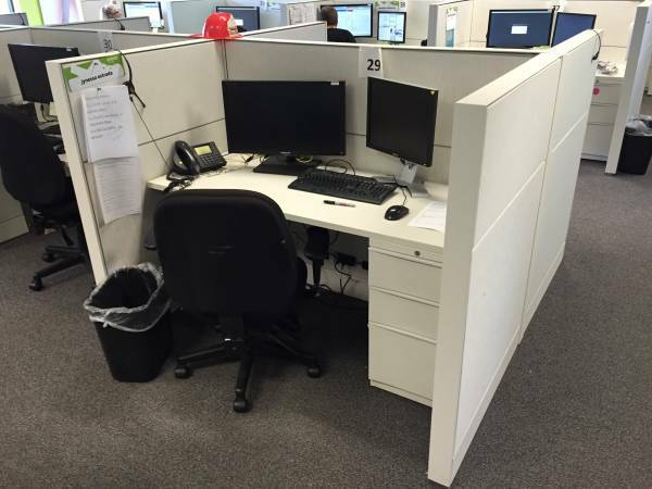 Call Center Cubicles For Sale Great Shape Cheyenne