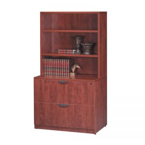 Classic 2-Drawer Lateral File with Hutch