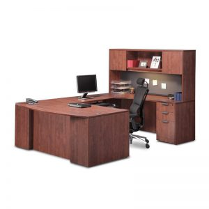 Classic Plus Executive Bowfront Workstation