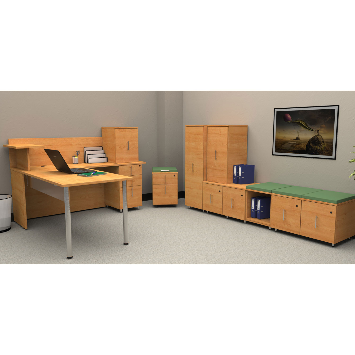 Vision By High Point Cheyenne Office Furniture