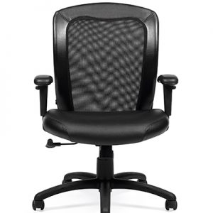 Luxhide Adjustable Mesh Back Ergonomic Chair