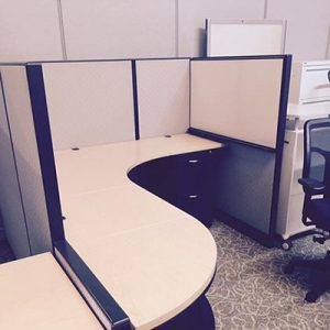 "RCI-063 - 6x6 Trendway ""Choices"" Office Cubicles"