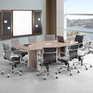 Classic Plus Boat Shaped Conference Table
