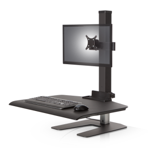 Winston Workstation Single Freestanding Sit-Stand