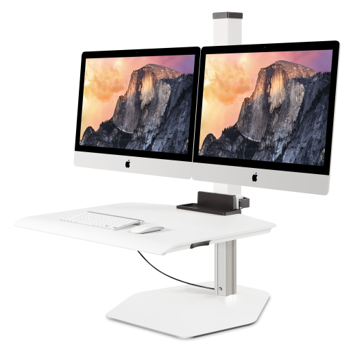 Apple Imac Vesa Dual Sit Stand Cheyenne Office Furniture
